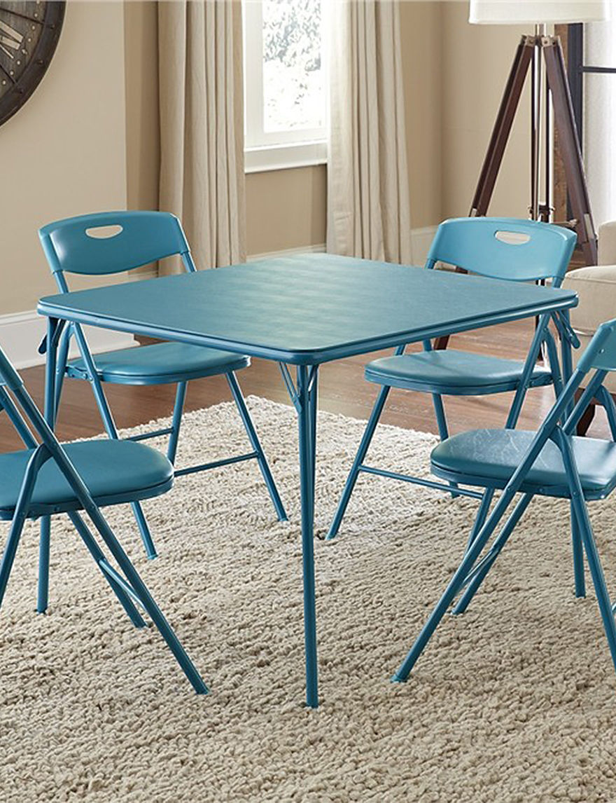 Cosco Baby Blue Dining Room Sets Kitchen & Dining Furniture