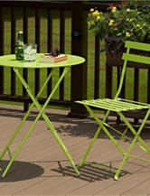 Cosco 3-pc. Bright Green Bistro Set