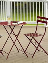 Cosco 3-pc. Red Bistro Set