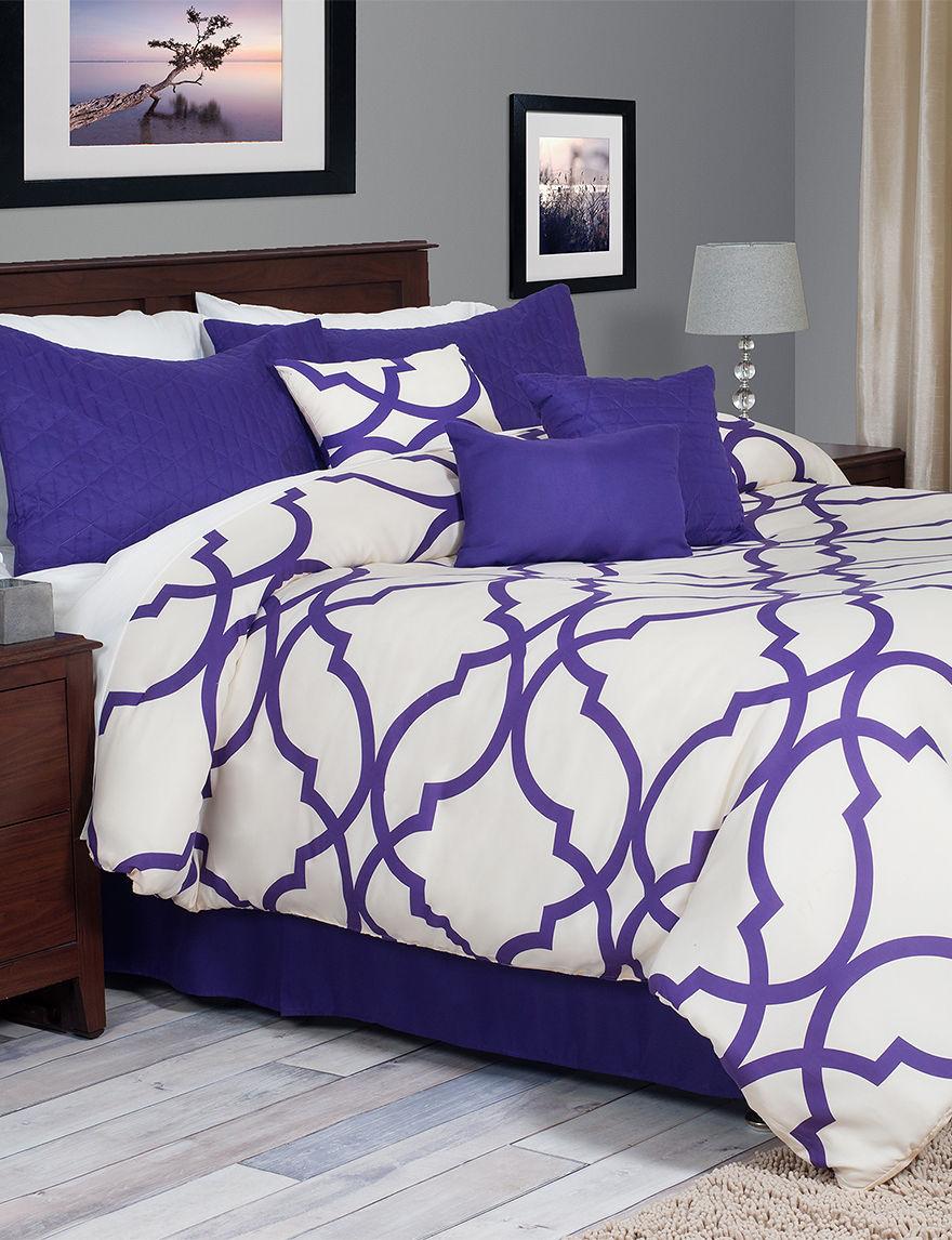 Everyday Home Purple Comforters & Comforter Sets