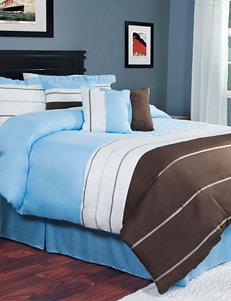 Lavish Home 7-pc. Avery Comforter Set