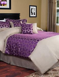 Lavish Home 7-pc. Aria Comforter Set