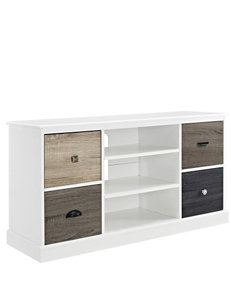 Altra White TV Stands & Entertainment Centers Living Room Furniture