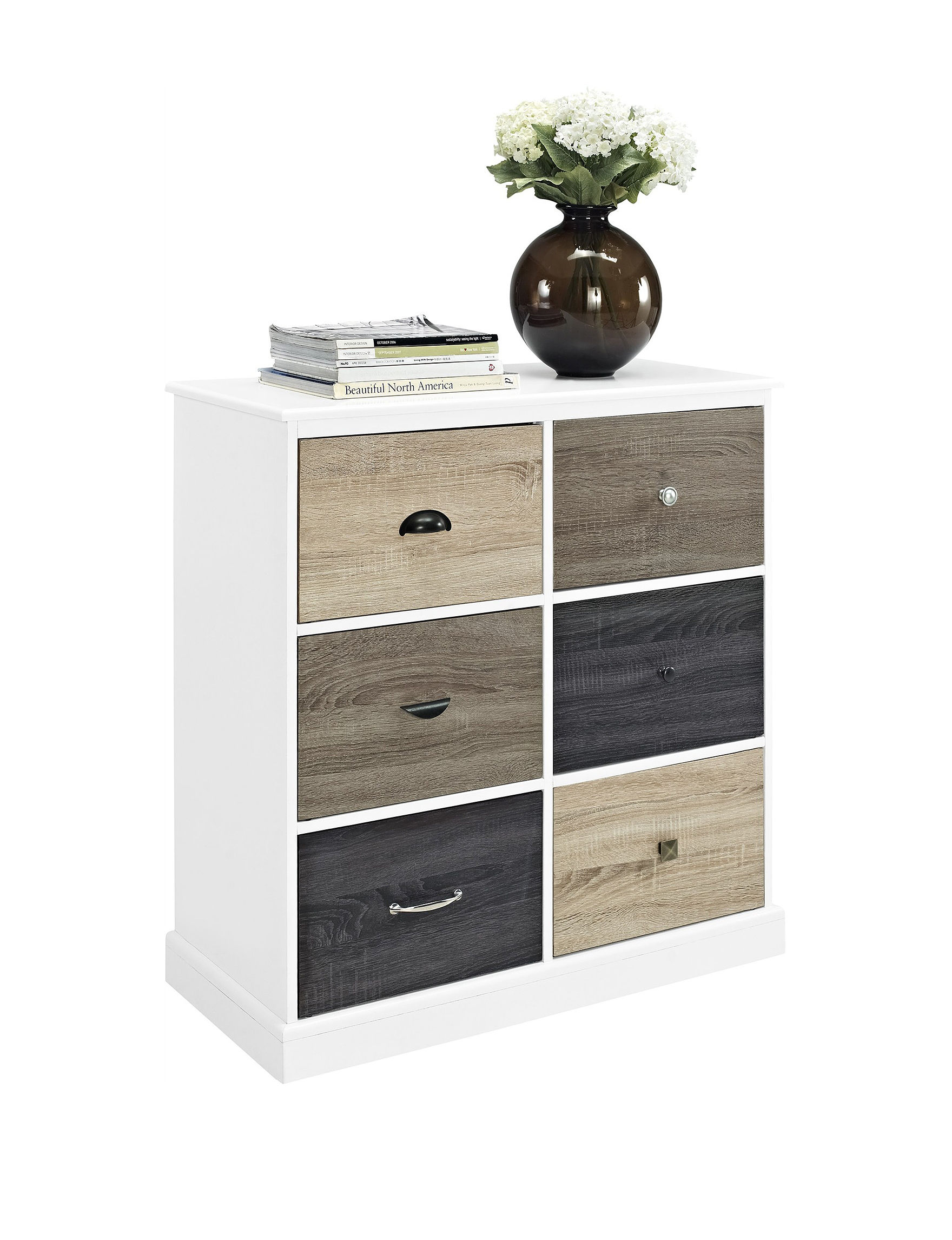 Altra White Cabinets & Cupboards Home Office Furniture