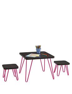 Cosco Espresso Desks Bedroom Furniture