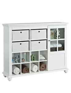 Altra White Cabinets & Cupboards Living Room Furniture