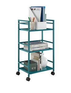 Altra Teal Kitchen Islands & Carts Kitchen & Dining Furniture