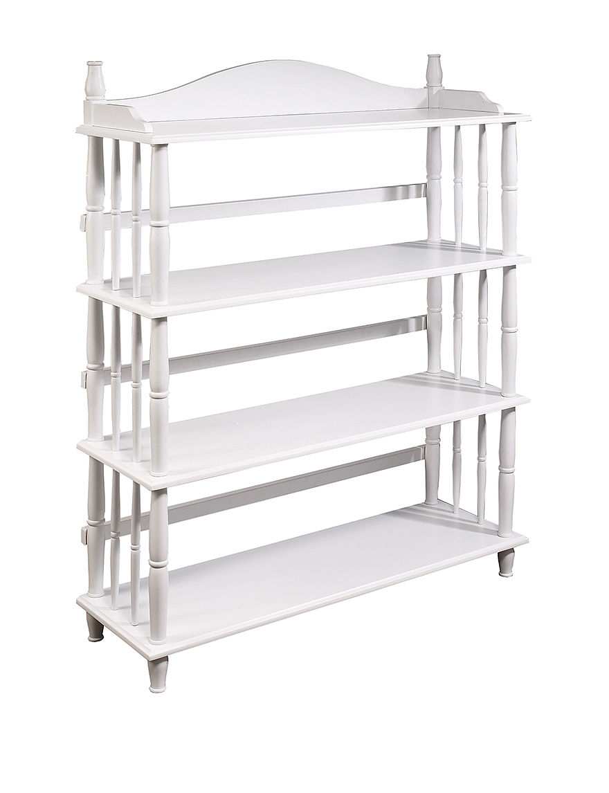 Altra White Bookcases & Shelves Living Room Furniture