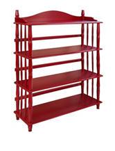 Altra Daysha 4-Shelf Spindle Leg Bookcase