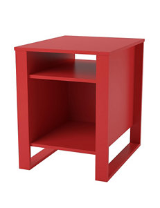 Ameriwood Red Side Table