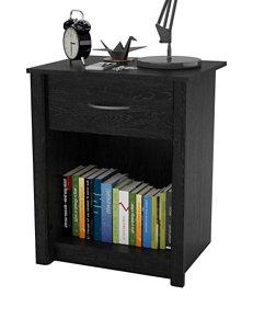 Ameriwood Black Night Stands Bedroom Furniture