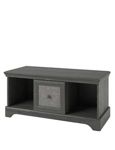 Altra Grey Ottomans & Benches Living Room Furniture