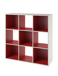 Altra White Bookcases & Shelves Living Room Furniture