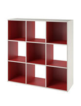 COSCO Wink 9-Cube Storage Bookcase