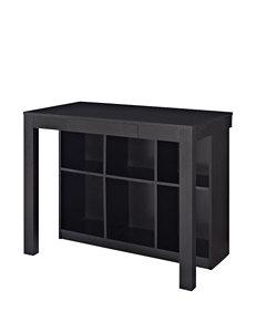 Altra Black Oak Parsons Style Desk