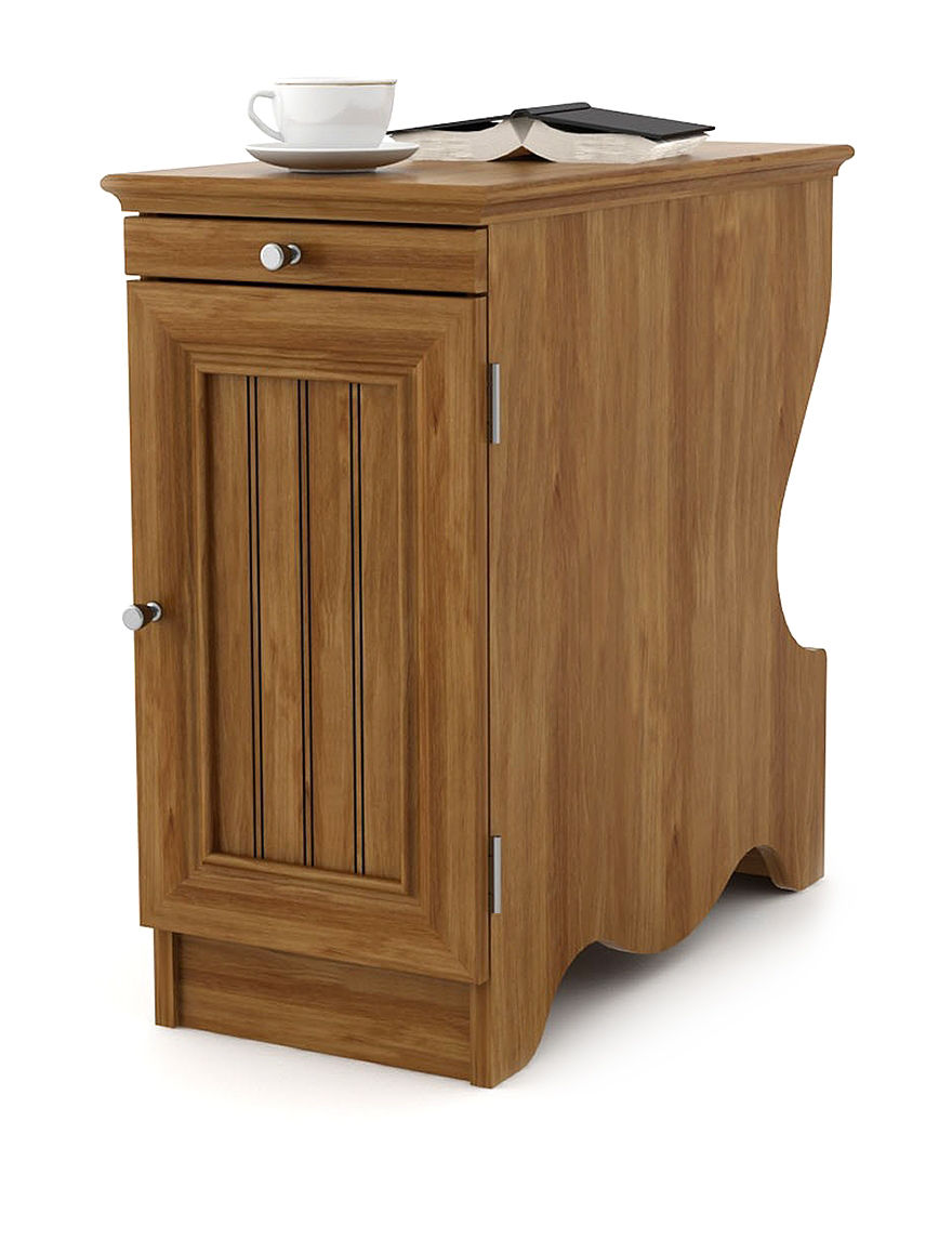 ameriwood chair side table with magazine storage stage stores. Black Bedroom Furniture Sets. Home Design Ideas