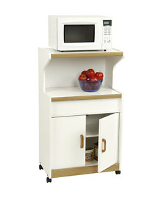 Good to Go White Kitchen Islands & Carts Kitchen & Dining Furniture