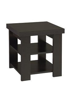 Ameriwood Espresso Accent & End Tables Living Room Furniture