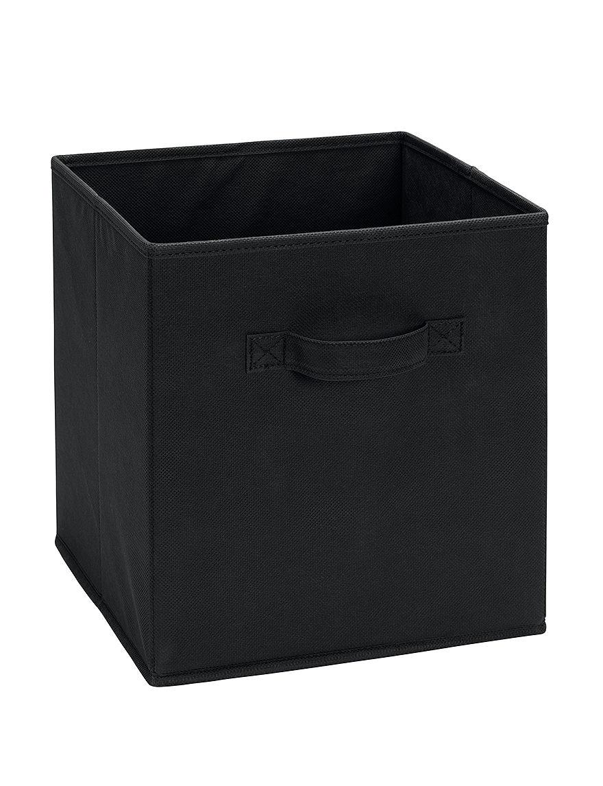 System Build Black Cubbies & Cubes Home Office Furniture