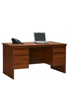 Ameriwood Executive Desk with File Drawers