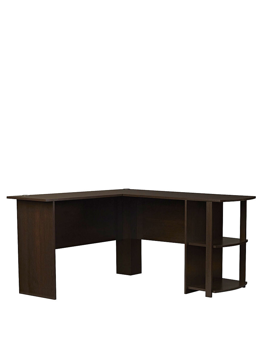 Ameriwood Dark Brown Desks Home Office Furniture
