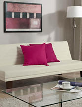 DHP Dillan Sleeper Futon White