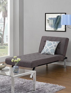 DHP Emily Chaise Lounger Grey