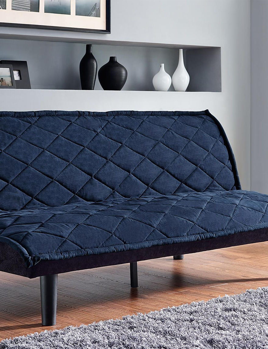 Dorel Navy Futons & Sofa Sleepers Living Room Furniture