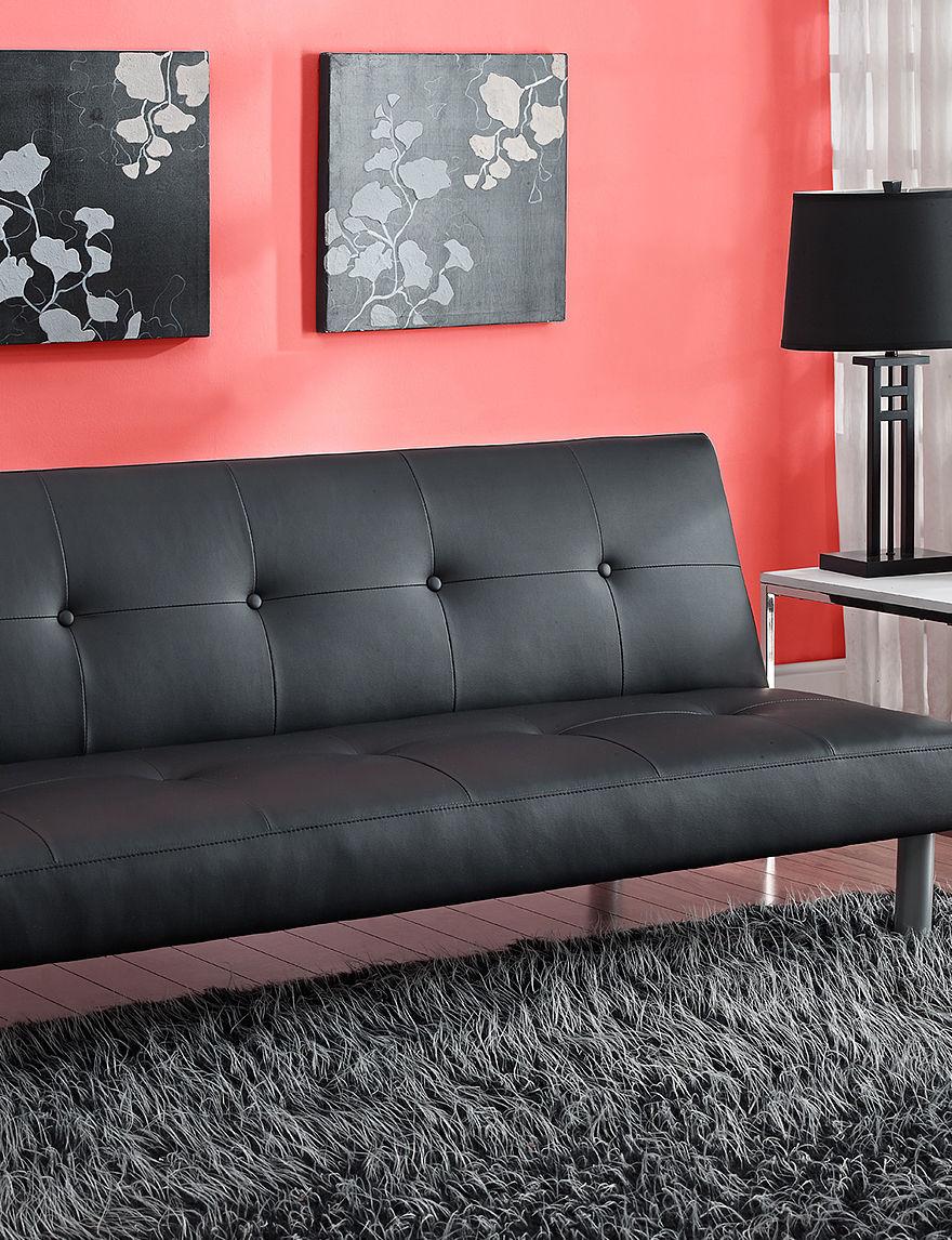 Dorel Black Futons & Sofa Sleepers Bedroom Furniture