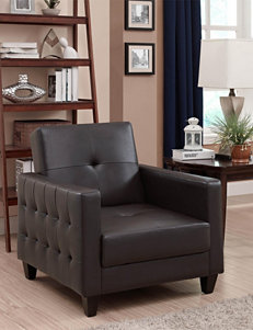 Dorel Brown Accent Chairs Living Room Furniture