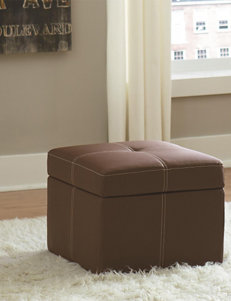 Dorel Brown Ottomans & Benches Living Room Furniture
