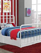 DHP Brooklyn Iron Full Bed White