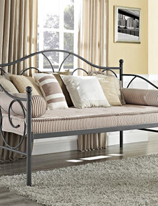 DHP Victoria Metal Twin Daybed Silver