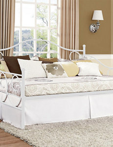 DHP Victoria Metal Twin Daybed White