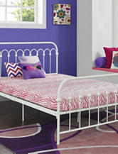 Signature Sleep CertiPUR-US Memory Foam Youth Full Mattress Pink Zebra