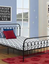 Signature Sleep CertiPUR-US Memory Foam Youth Full Mattress Blue Camo