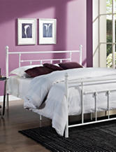 DHP Manila Queen Metal Bed Frame White