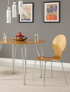 DHP 2-pc. Shell Bentwood Chairs Natural