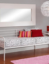 DHP Twin Metal Daybed White