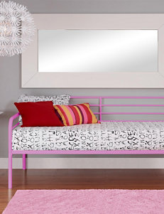 DHP Twin-Size Metal Daybed Pink