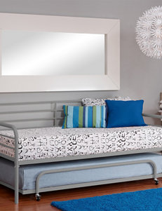 DHP Twin-Size Trundle Silver