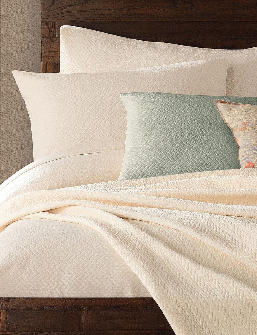 Lamont Home Ivory Pillow Shams