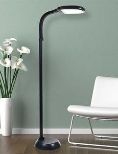 Lavish Home Black Floor Lamps Lighting & Lamps