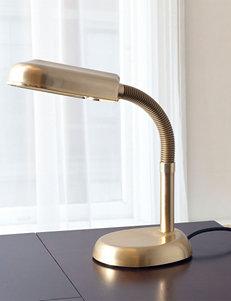 Lavish Home Antique Brass Metal Sunlight Desk Lamp