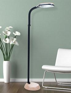 Lavish Home Tan Floor Lamps Lighting & Lamps
