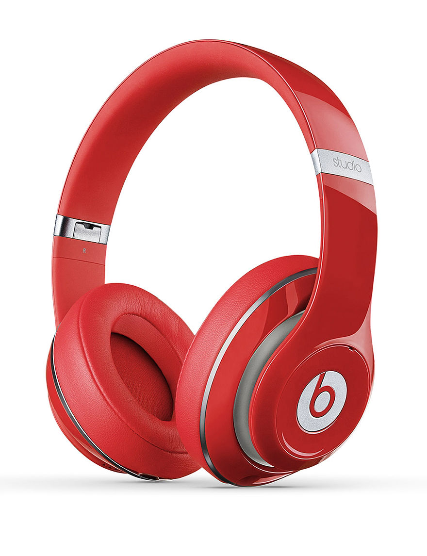 Beats by Dre Studio 2.0 Wired Beats Over Ear Headphones - Red - Beats by Dre