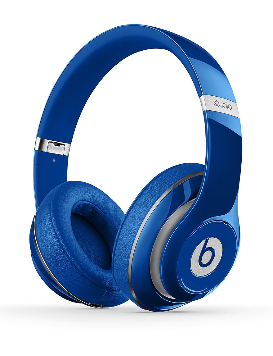 Beats by Dre Studio 2.0 Wired Over-Ear Headphones - Blue - Beats by Dre