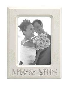 Malden Mr. & Mrs. Passages 5 x 7 White Frame