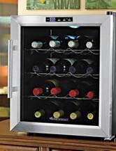 Wine Enthusiast Silent 16 Bottle Touchscreen Wine Cooler