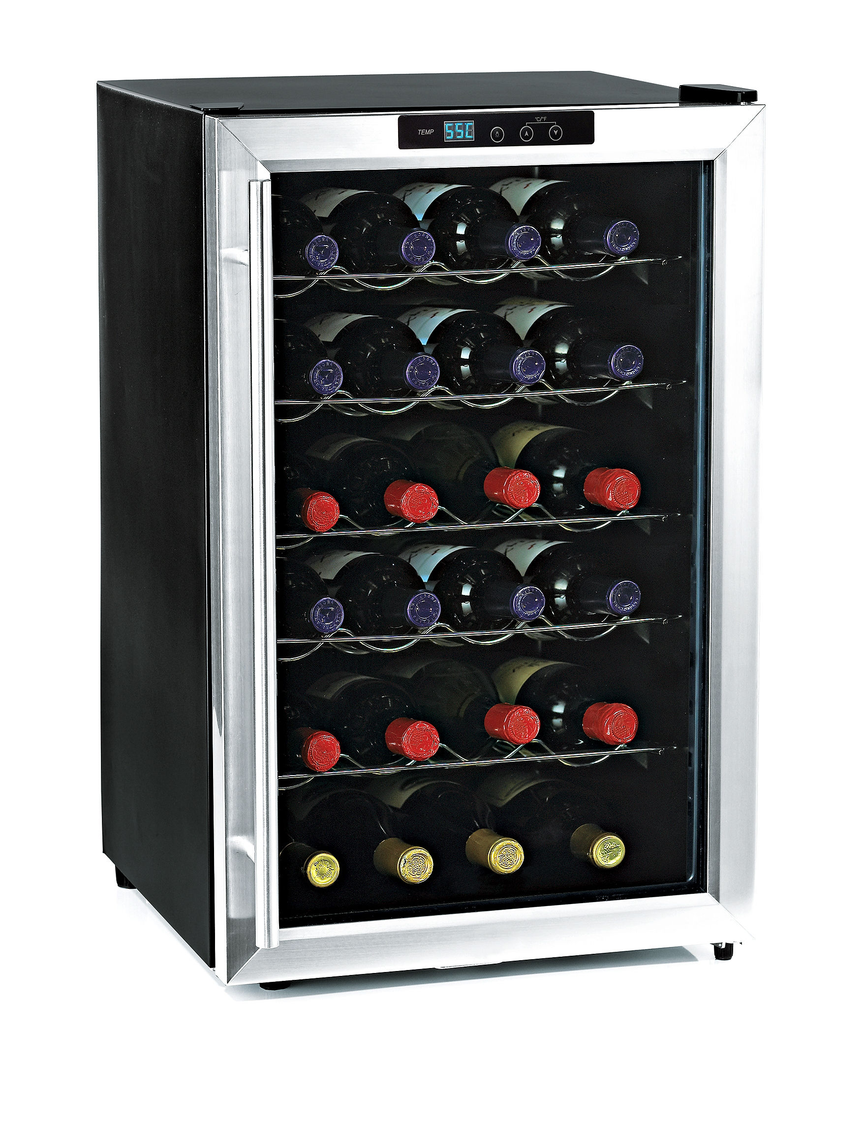 Wine Enthusiast Silver Wine Coolers Bar Accessories